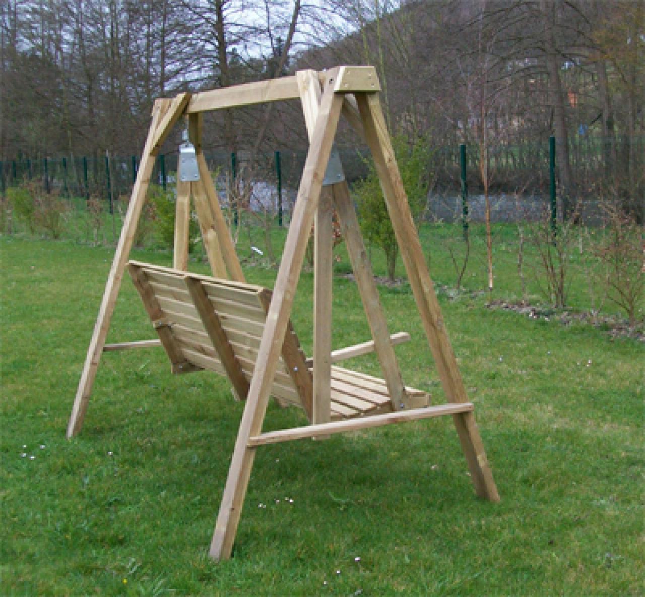 Balancelle bois mobilier de jardin en bois 27 flbc - Mobilier de jardin bois ...
